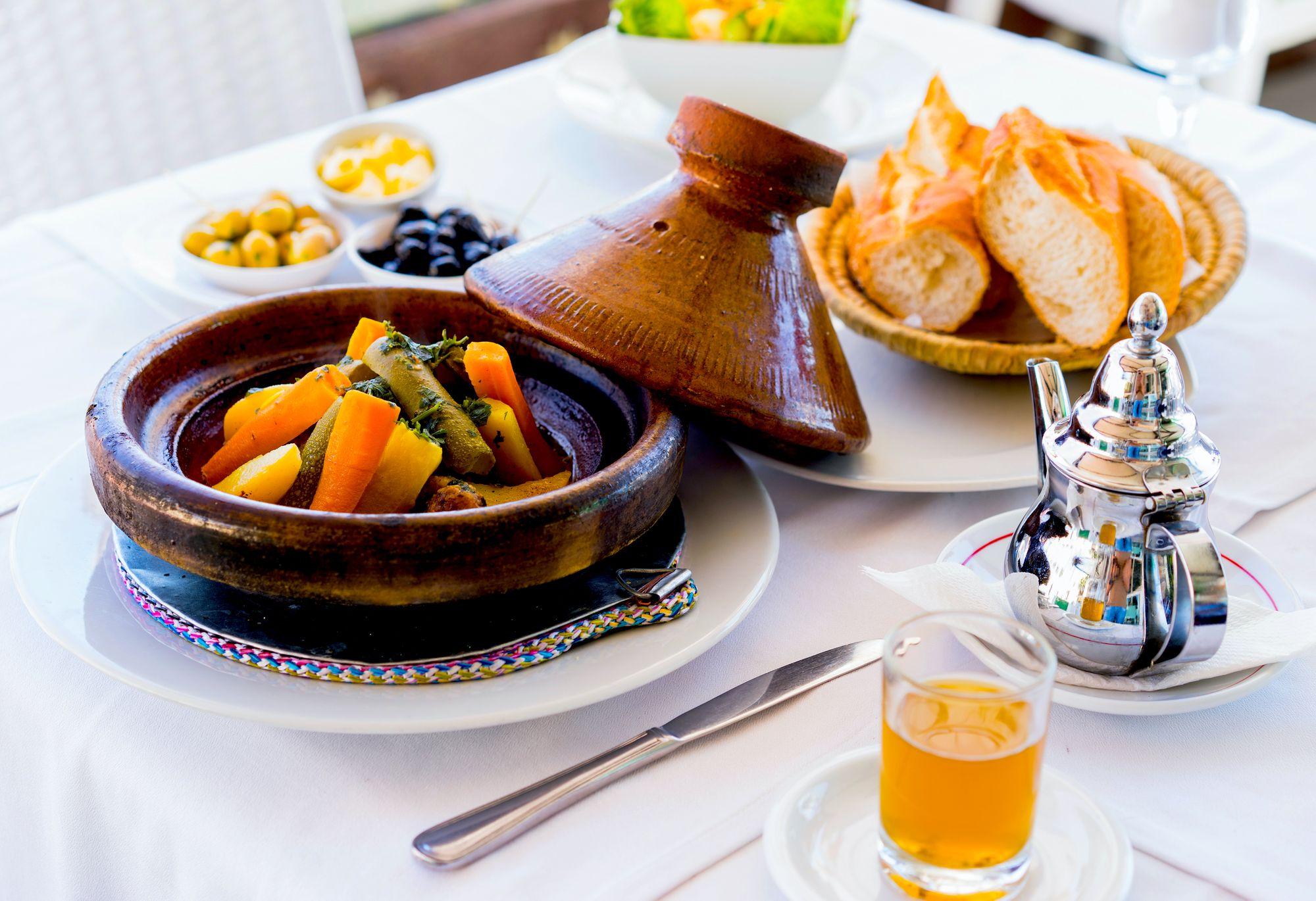 Köstliche Halal-Speisen