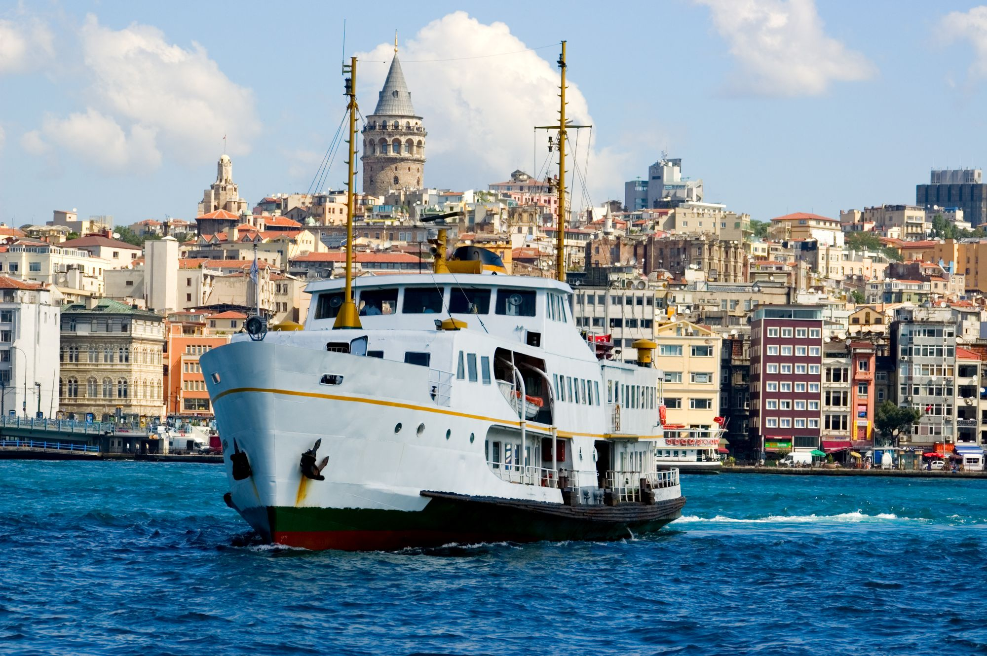 Ferry boat from Istanbul to Yalova
