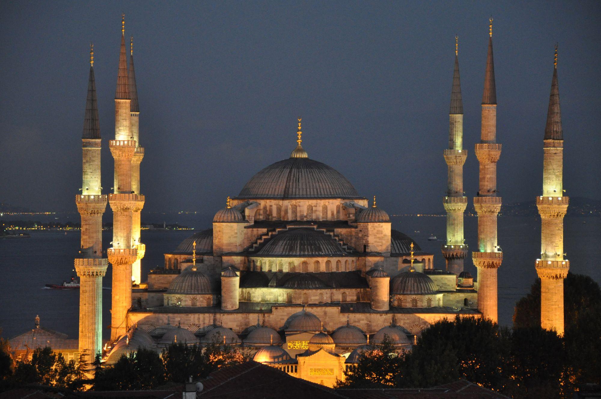 Die Blaue Moschee, Sultanahmet