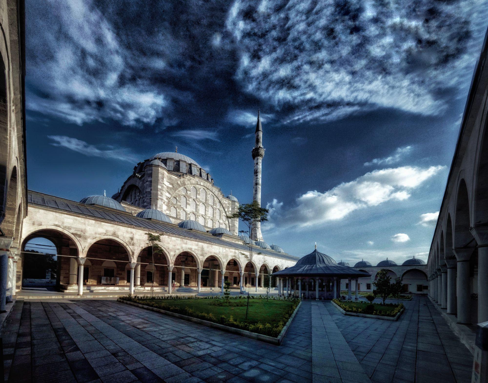Die Fatih-Moschee