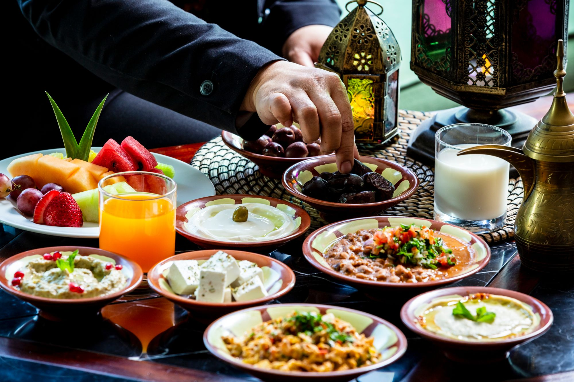 Iftar-Mahlzeit