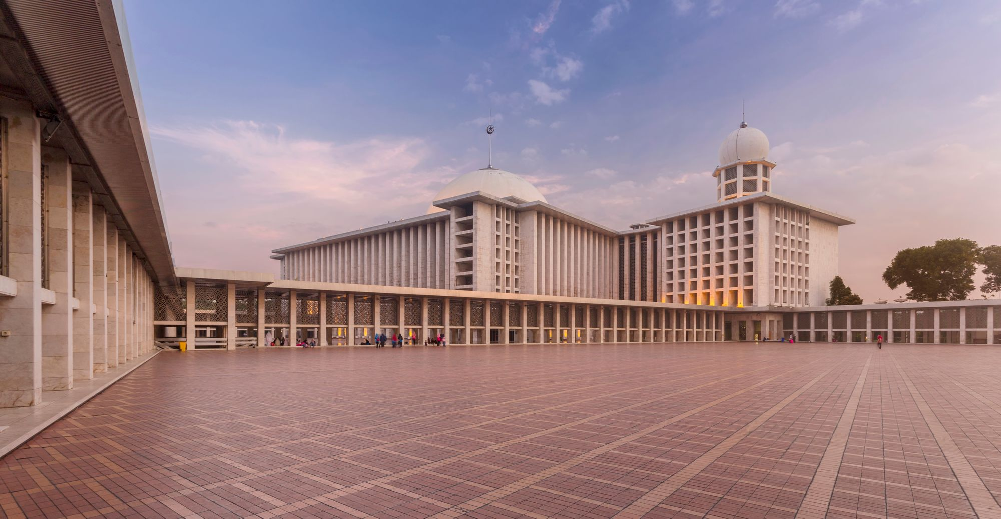 The Grand Istiqlal Mosque