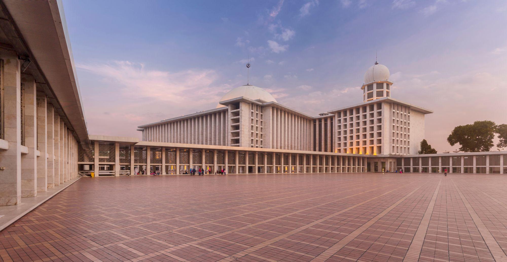 Die Große Istiqlal Moschee, Jakarta