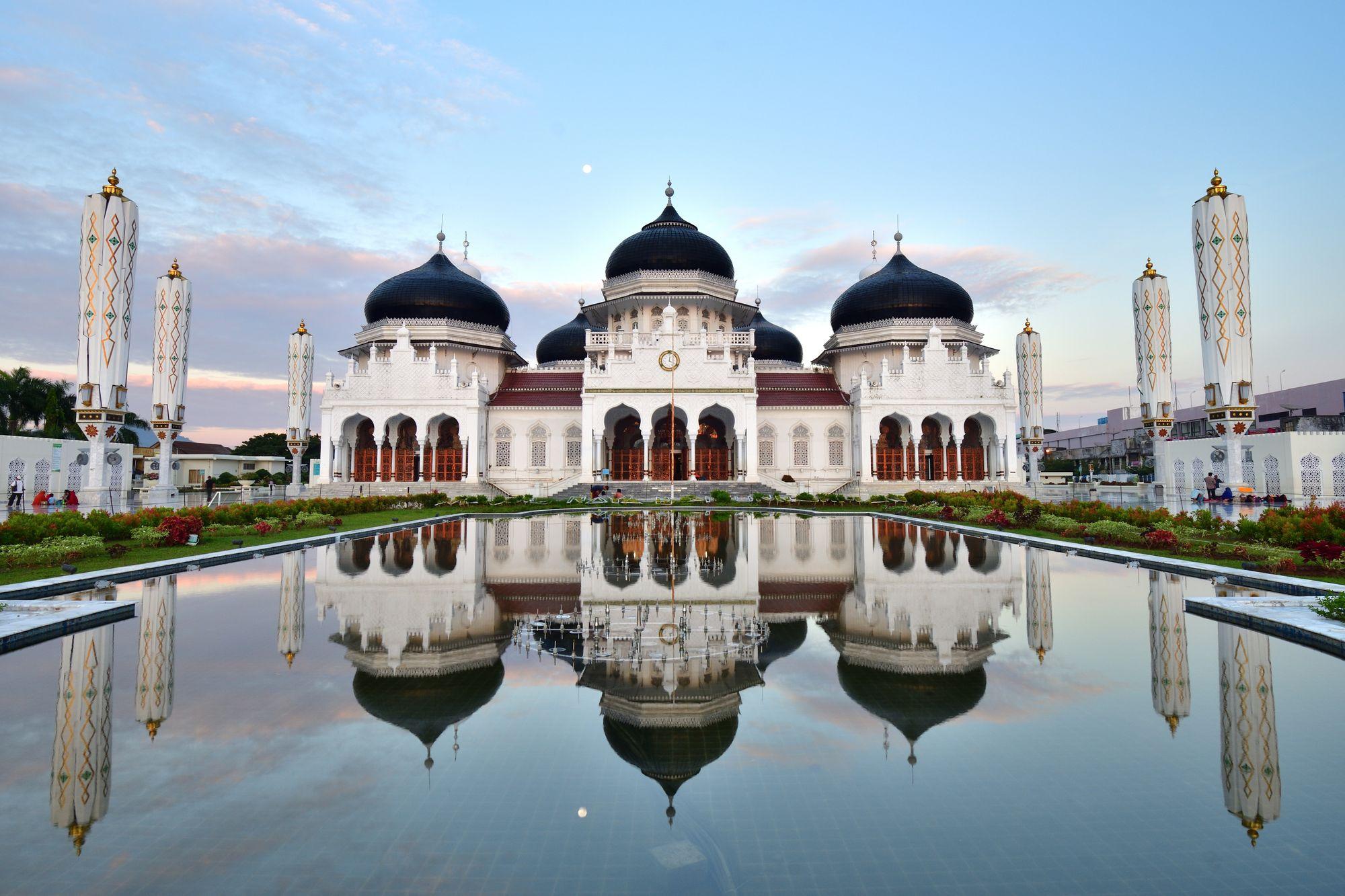 Grosse Baiturrahman Moschee, Banda Aceh