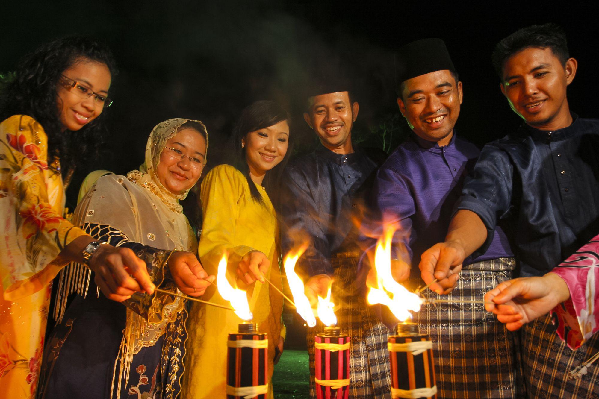 Hari Raya celebration in Malaysia