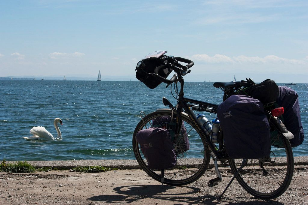 Bicycle tours on Lake Constance