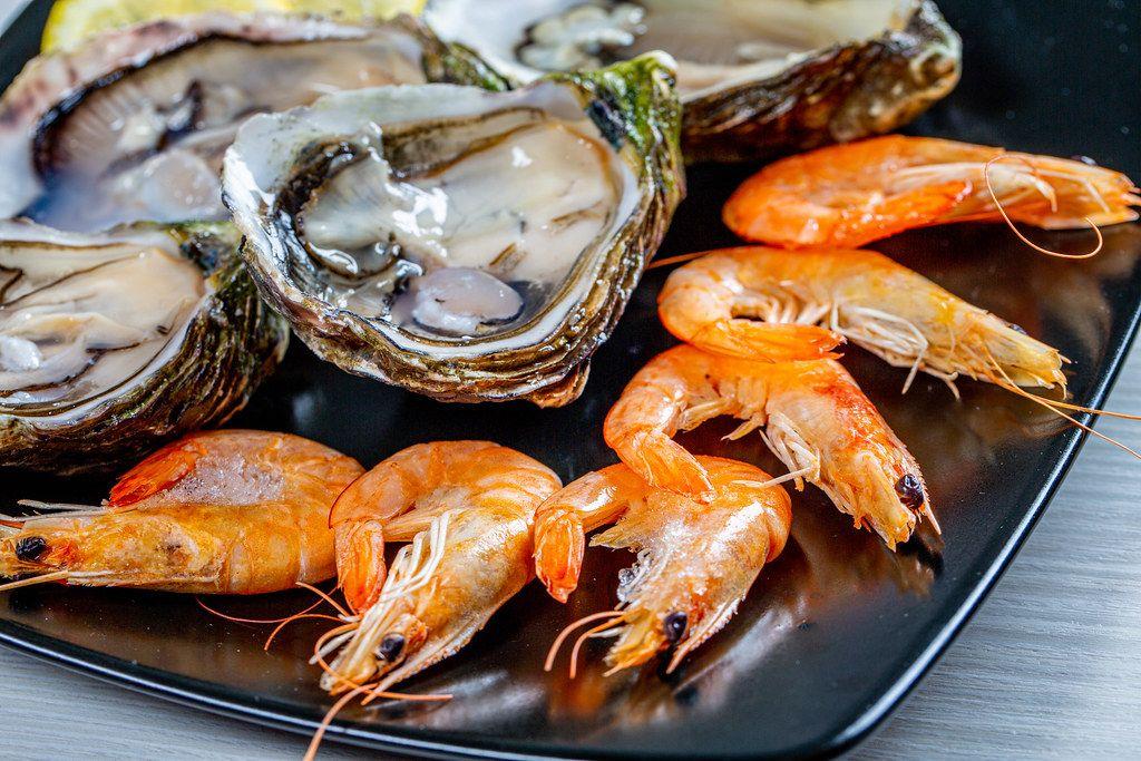 Морепродукты — типичная средиземноморская кухня