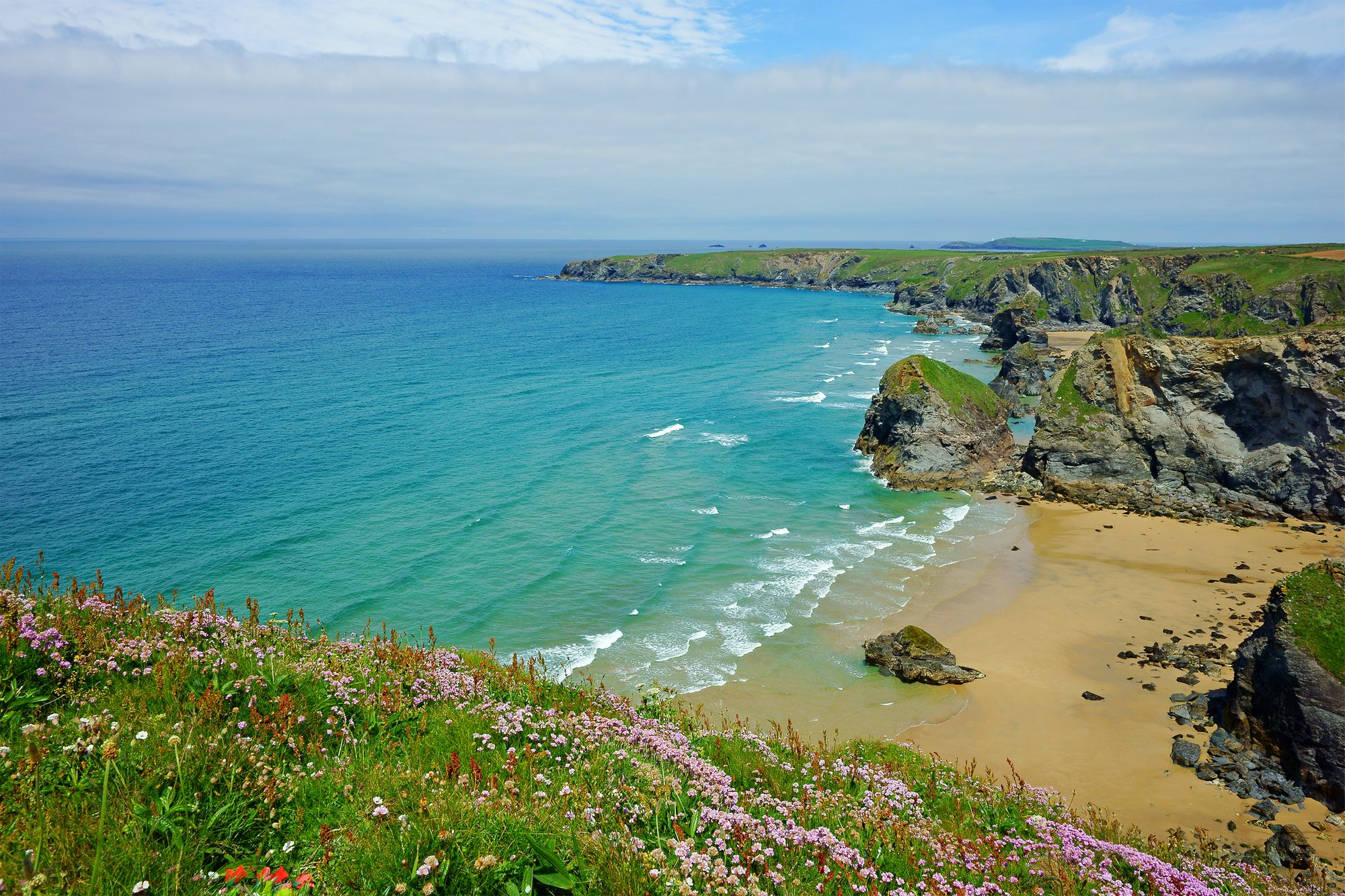 The Atlantic coast of North Cornwall