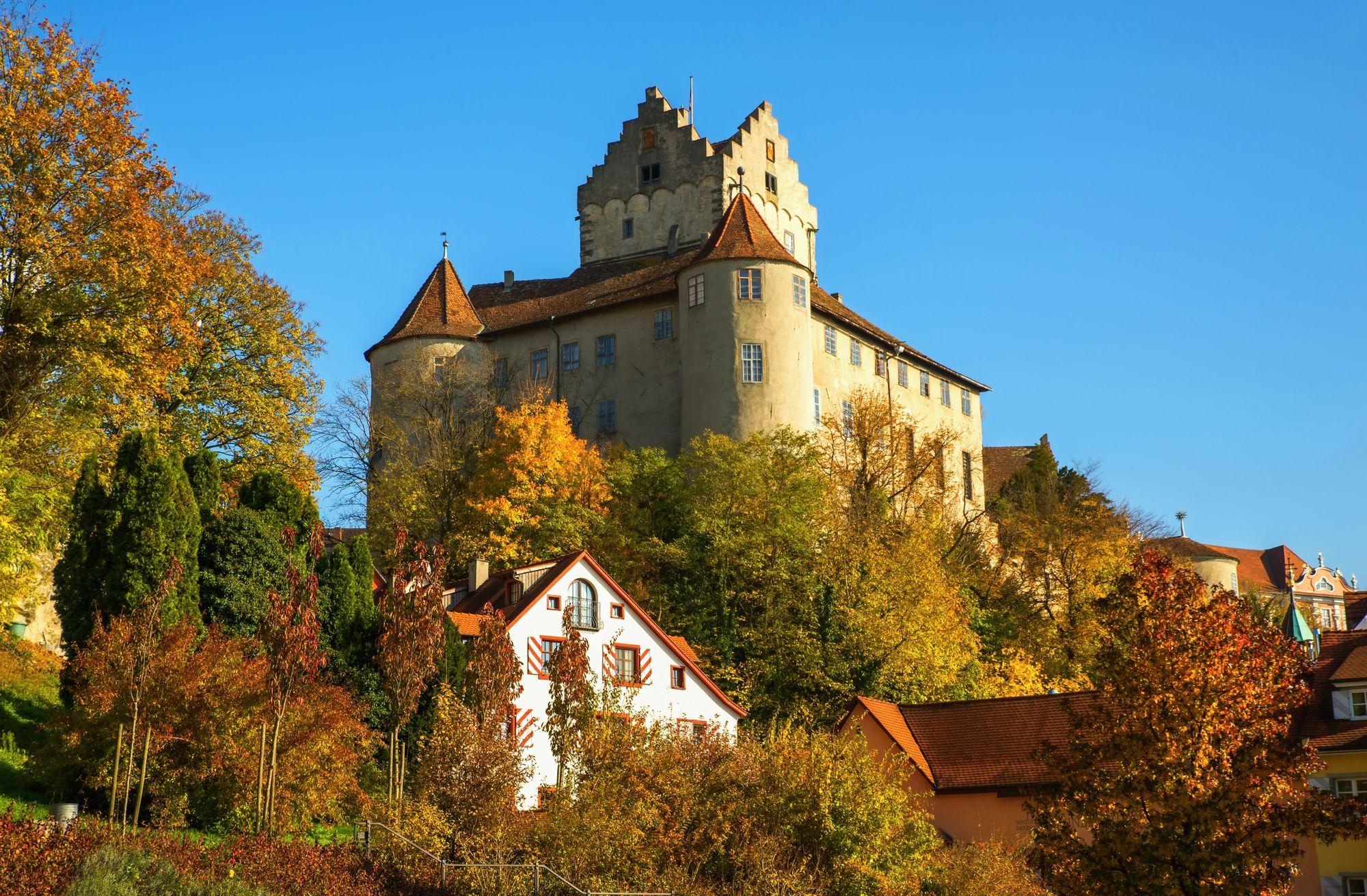 Meersburg Castle on Lake Constance
