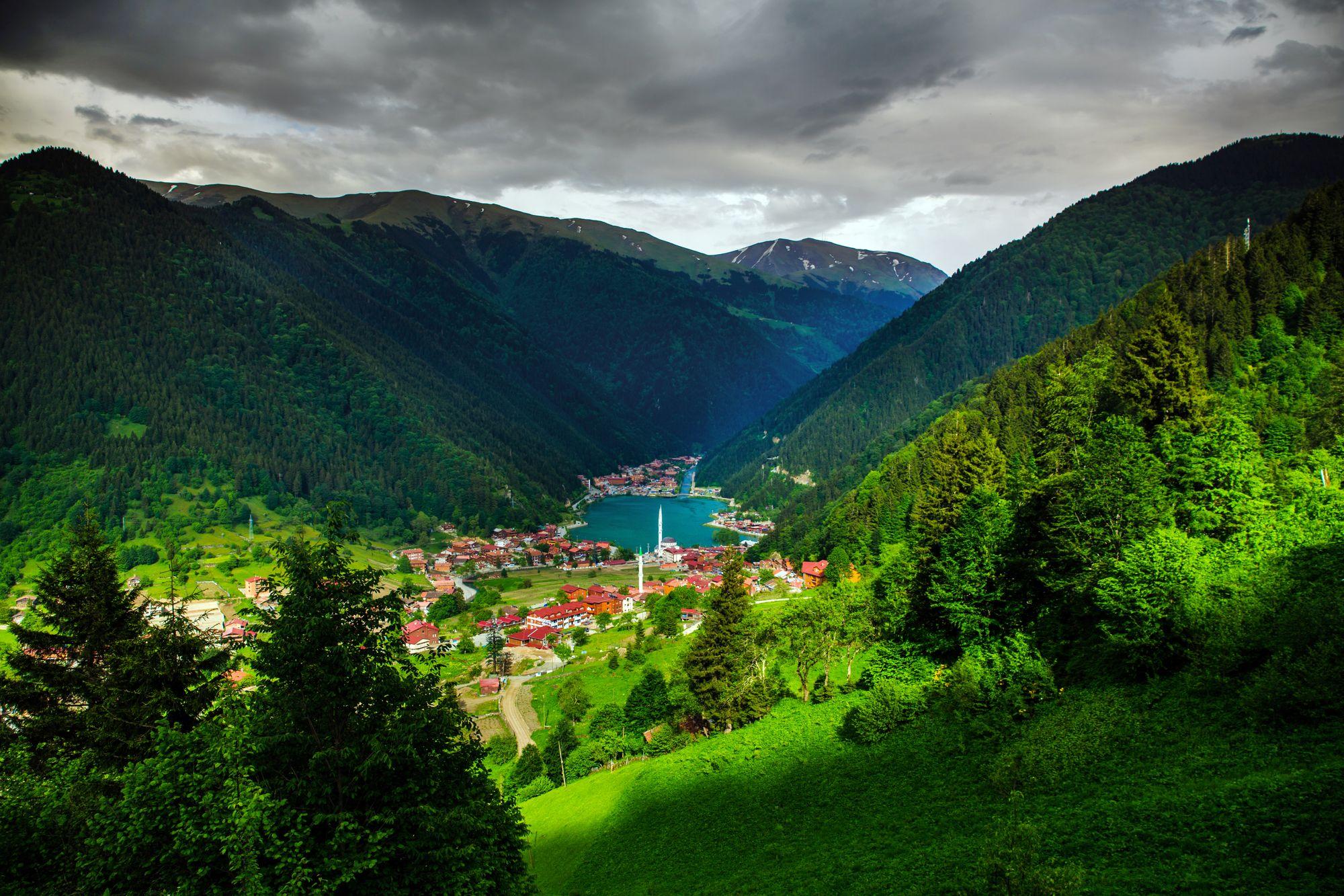 Trabzon'un Yemyeşil Doğasını