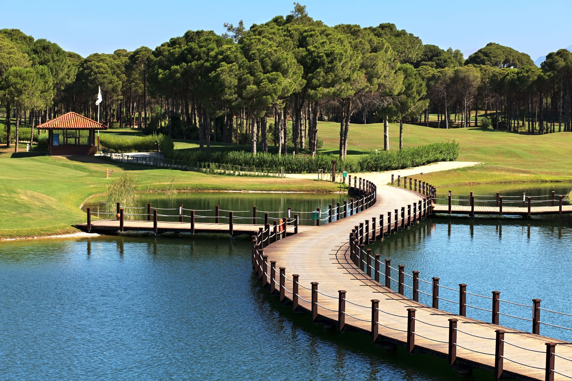 Belek is an important centre for golf