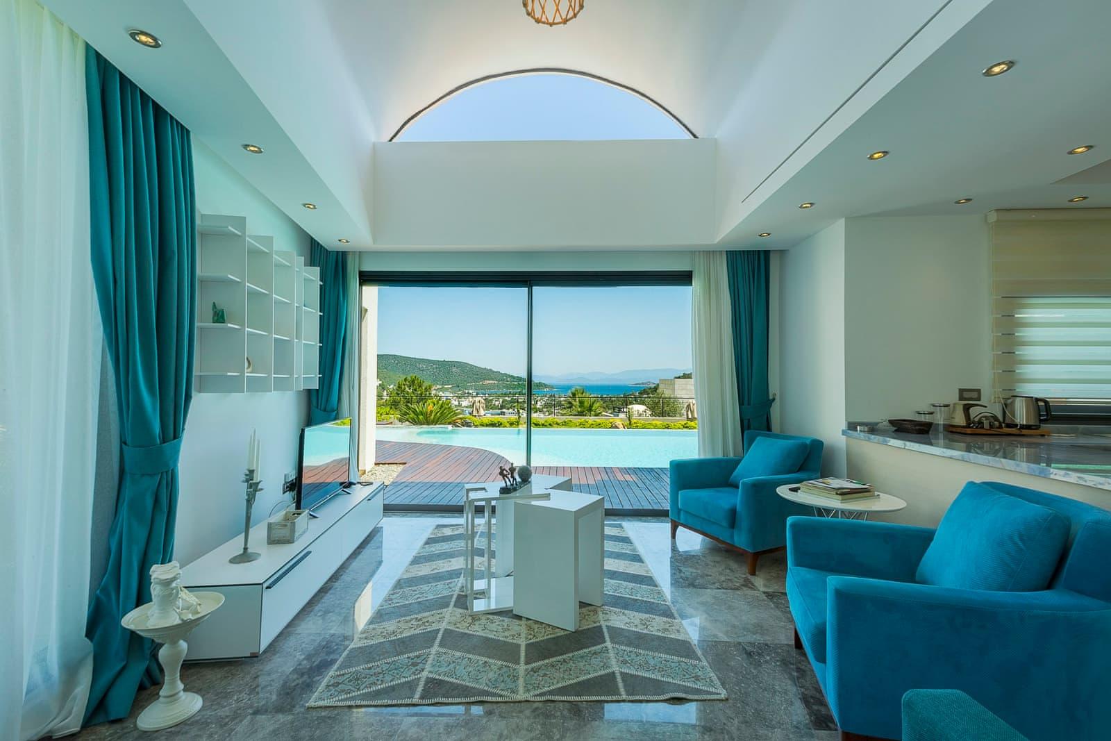 Private pool villa in Bodrum