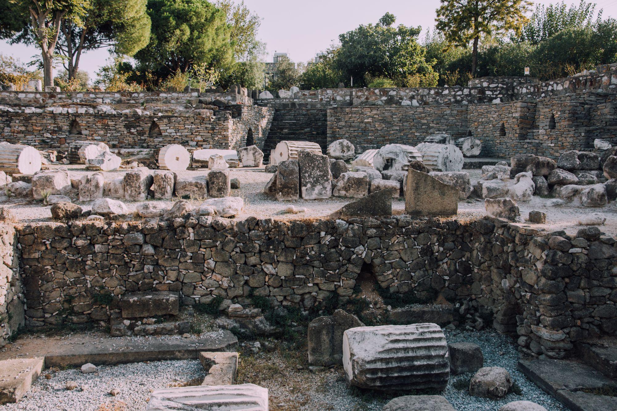 Halicarnassus Mausoleum in Bodrum
