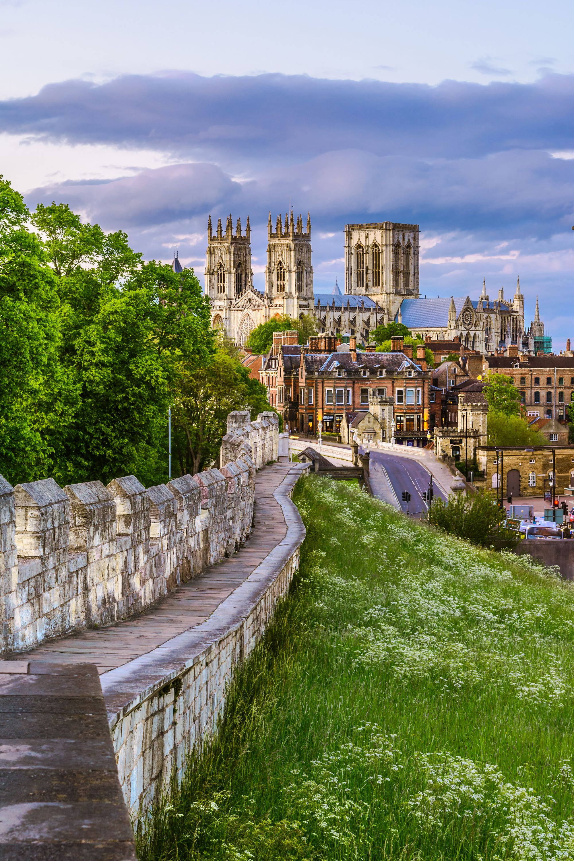 View of York from the city walls