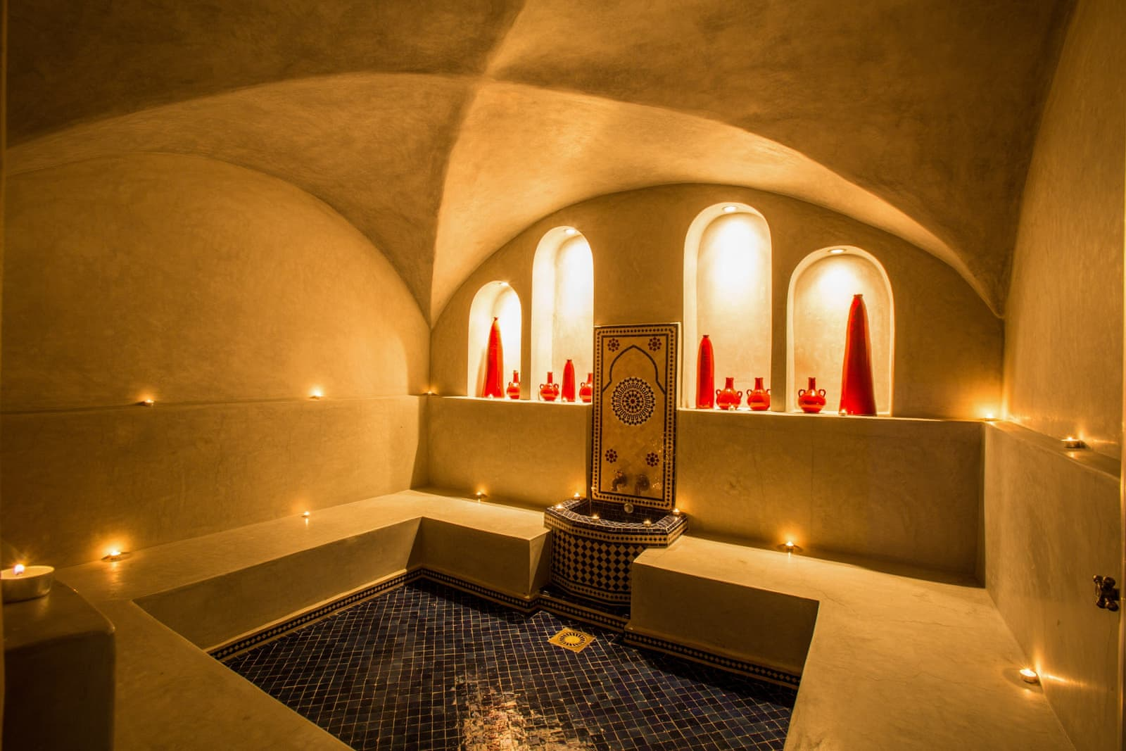 Some villas in Morocco offer private spa facilities