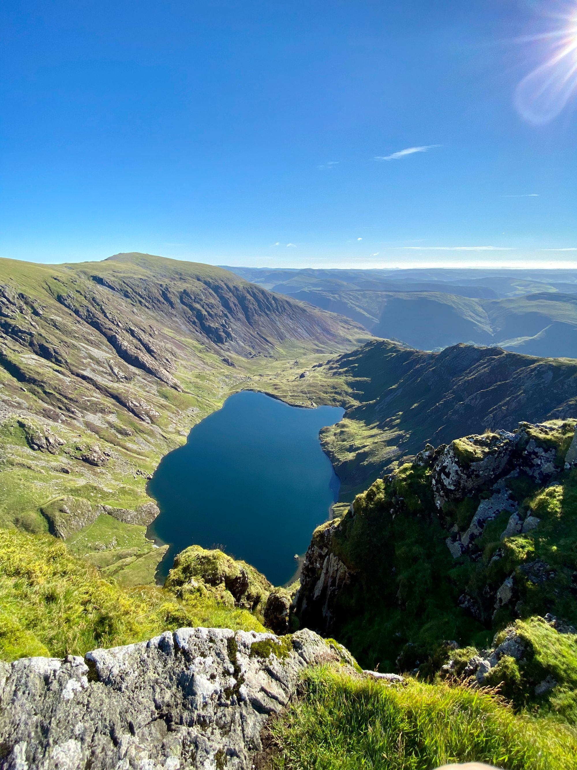 Cadair Idris mountain in North Wales, Snowdonia