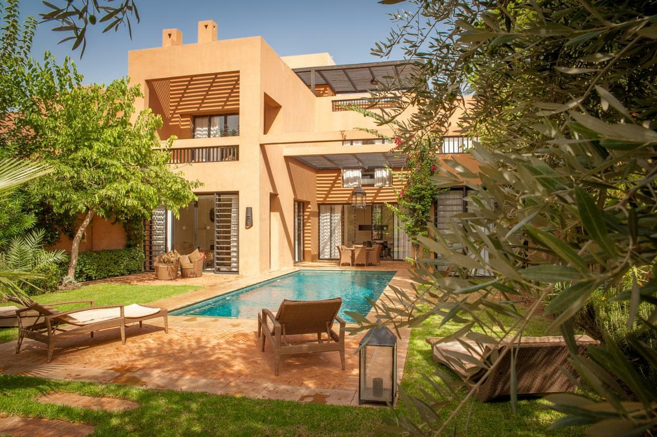 Private villa in Morocco is ideal for families with children