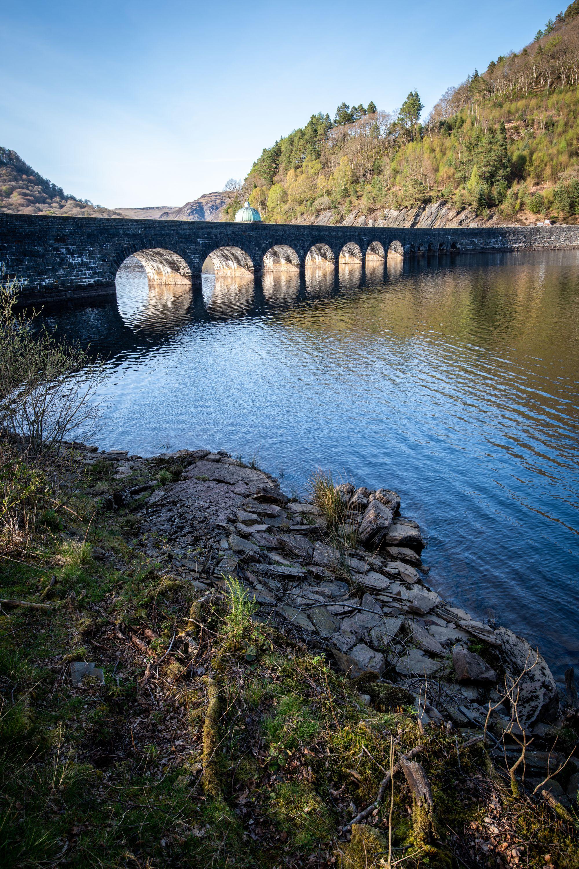 Carreg Ddu Viaduct and Reservoir, Elan Valley