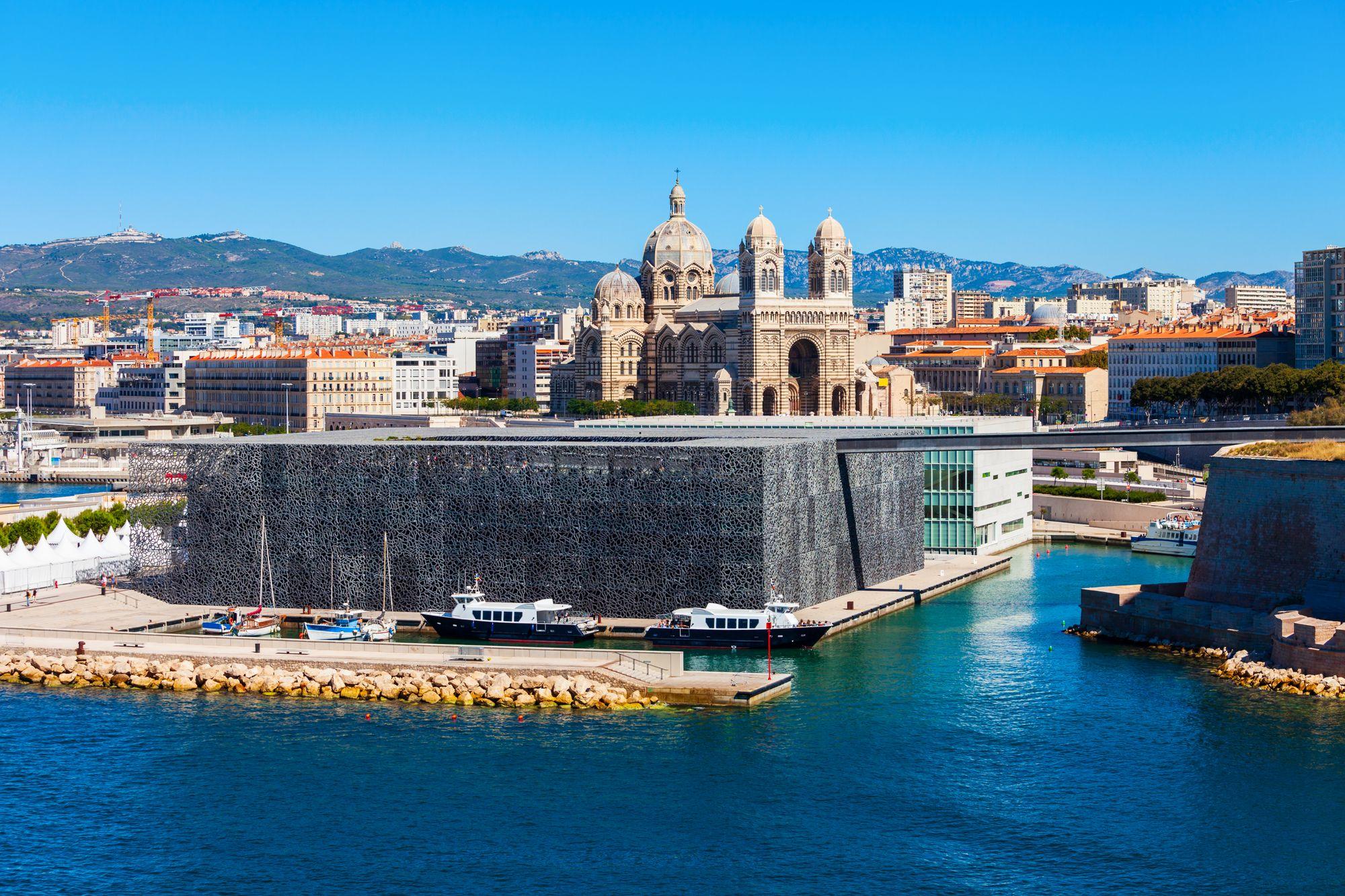 Le Musée des Civilisations de l'Europe et de la Méditerranée (Mucem)