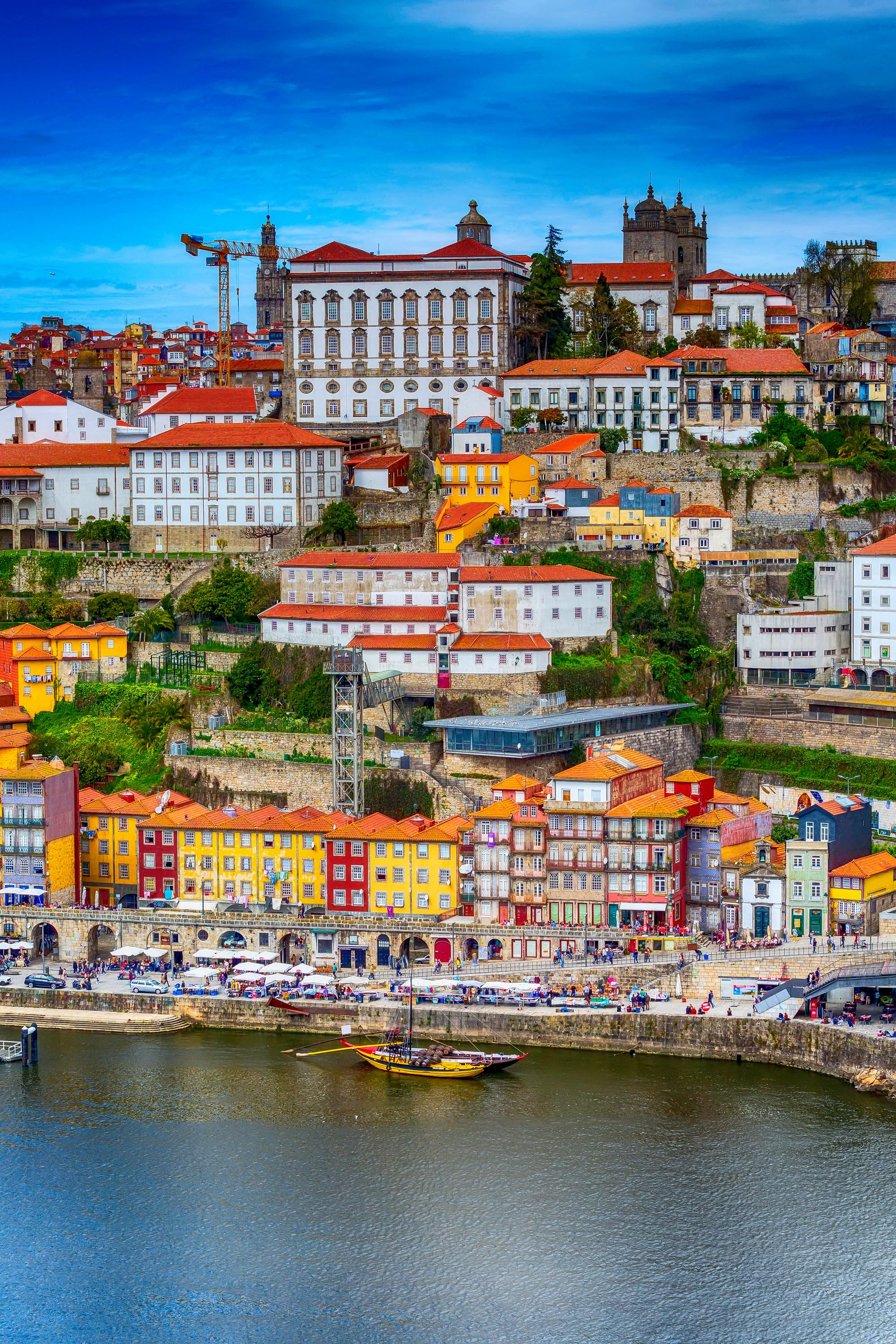 Ribeira is one of the most popular neighbourhoods in Porto