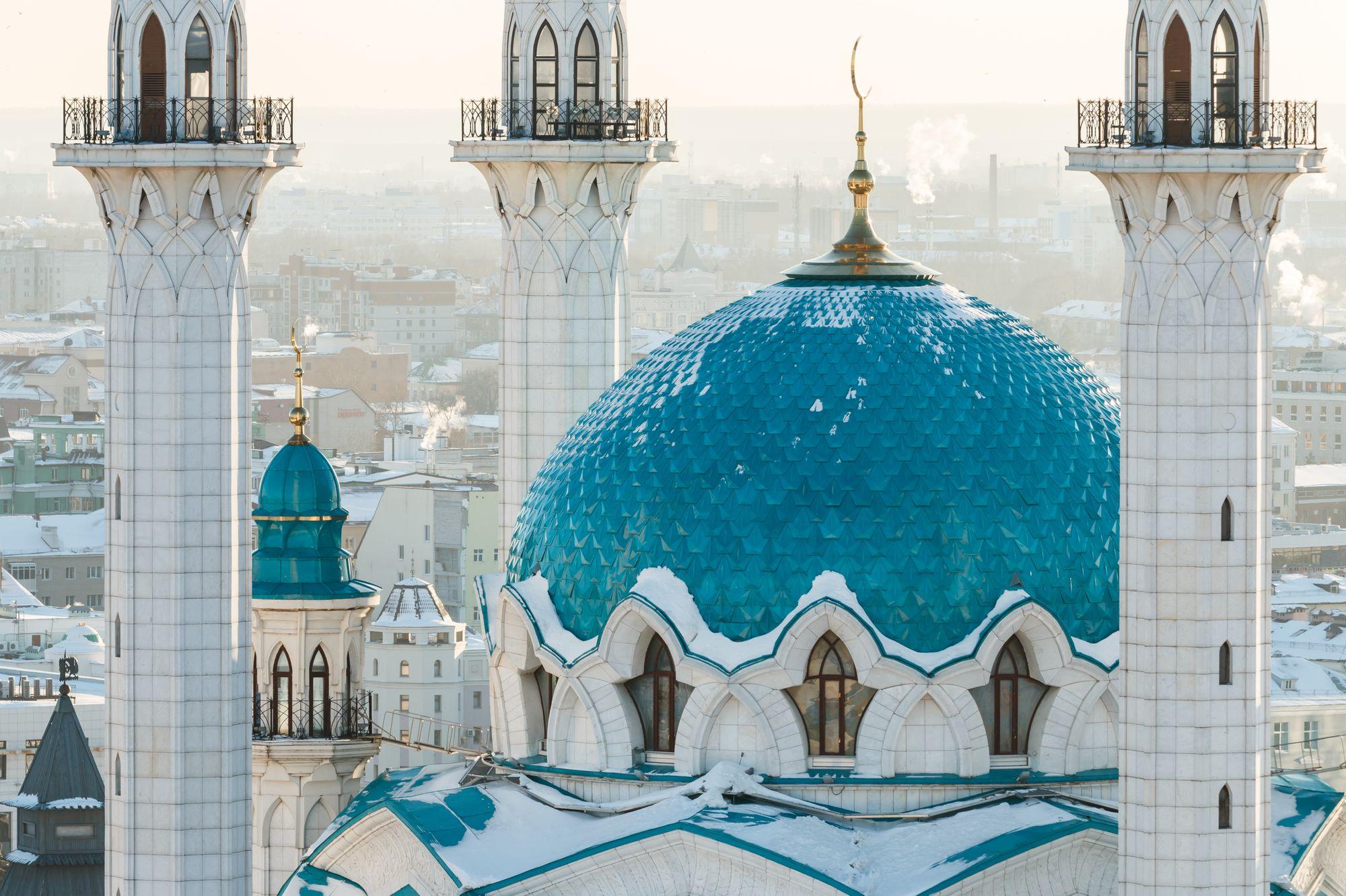 Kul Sharif mosque, Kazan city, Tatarstan, Russia
