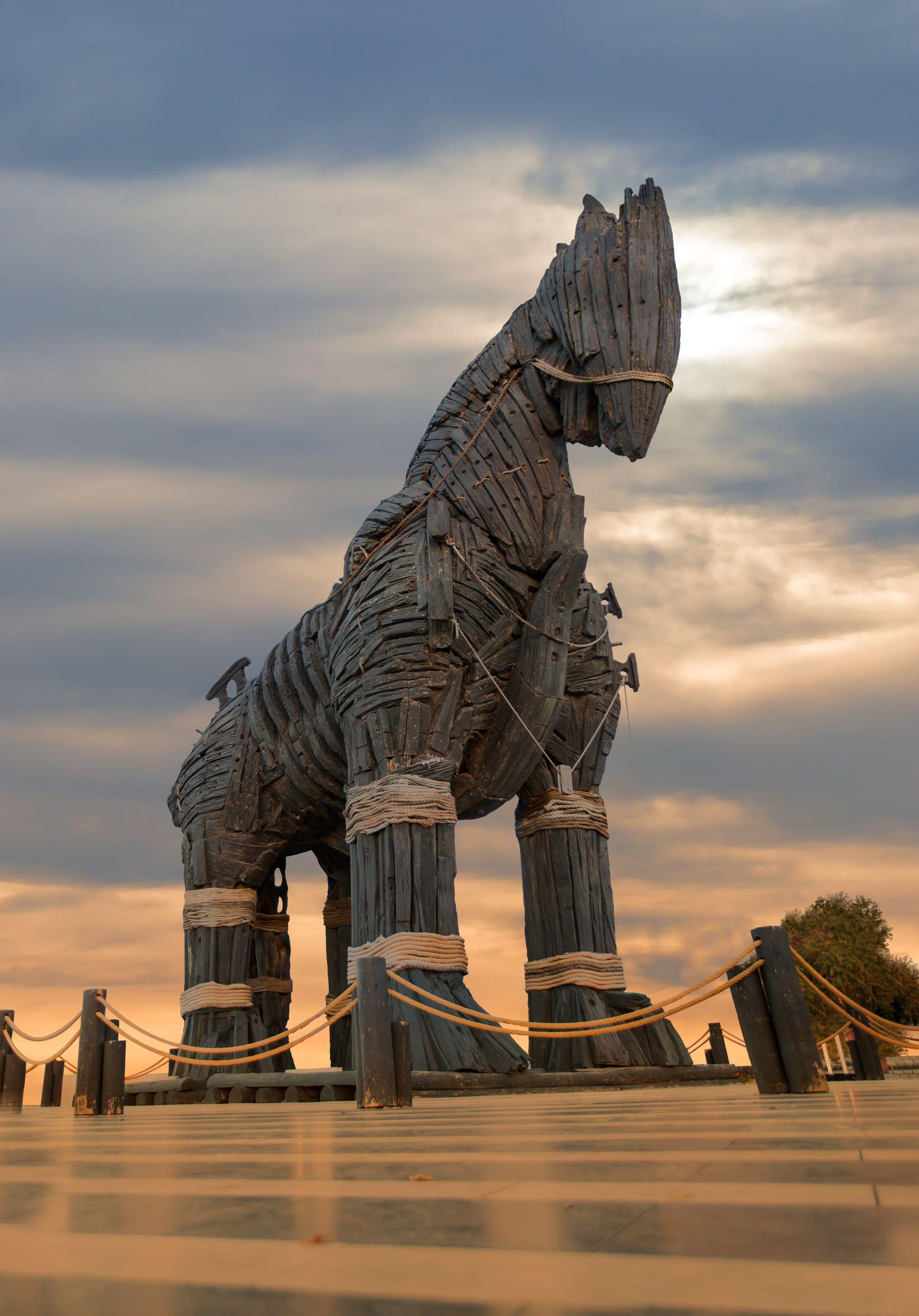 Trojan horse, Canakkale